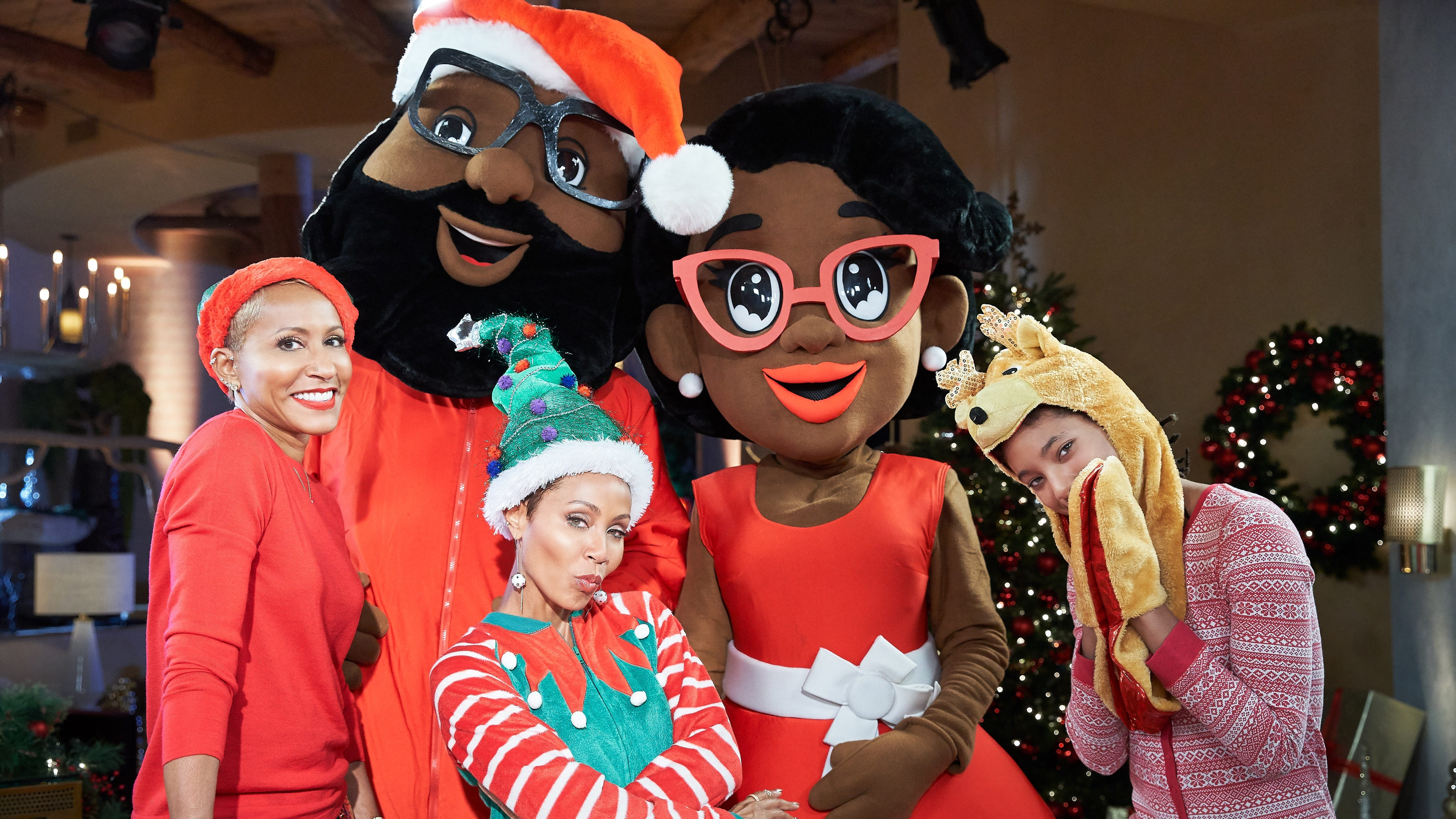 Exclusive: Jada Pinkett Smith remembers Willow was destroyed by Santa truth on 'Red Table'