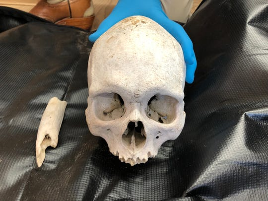 Brooks County Sheriff's officials recovered 52 sets of skeletal remains last year, usually belonging to migrants attempting to cross the U.S.-Mexico border. The department, like others along the Texas border, doesn't have enough funding or expertise to identify and transport the remains on their own and relies on grants and outside groups.