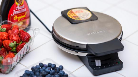 The Cuisinart WMR-CA classic waffle maker