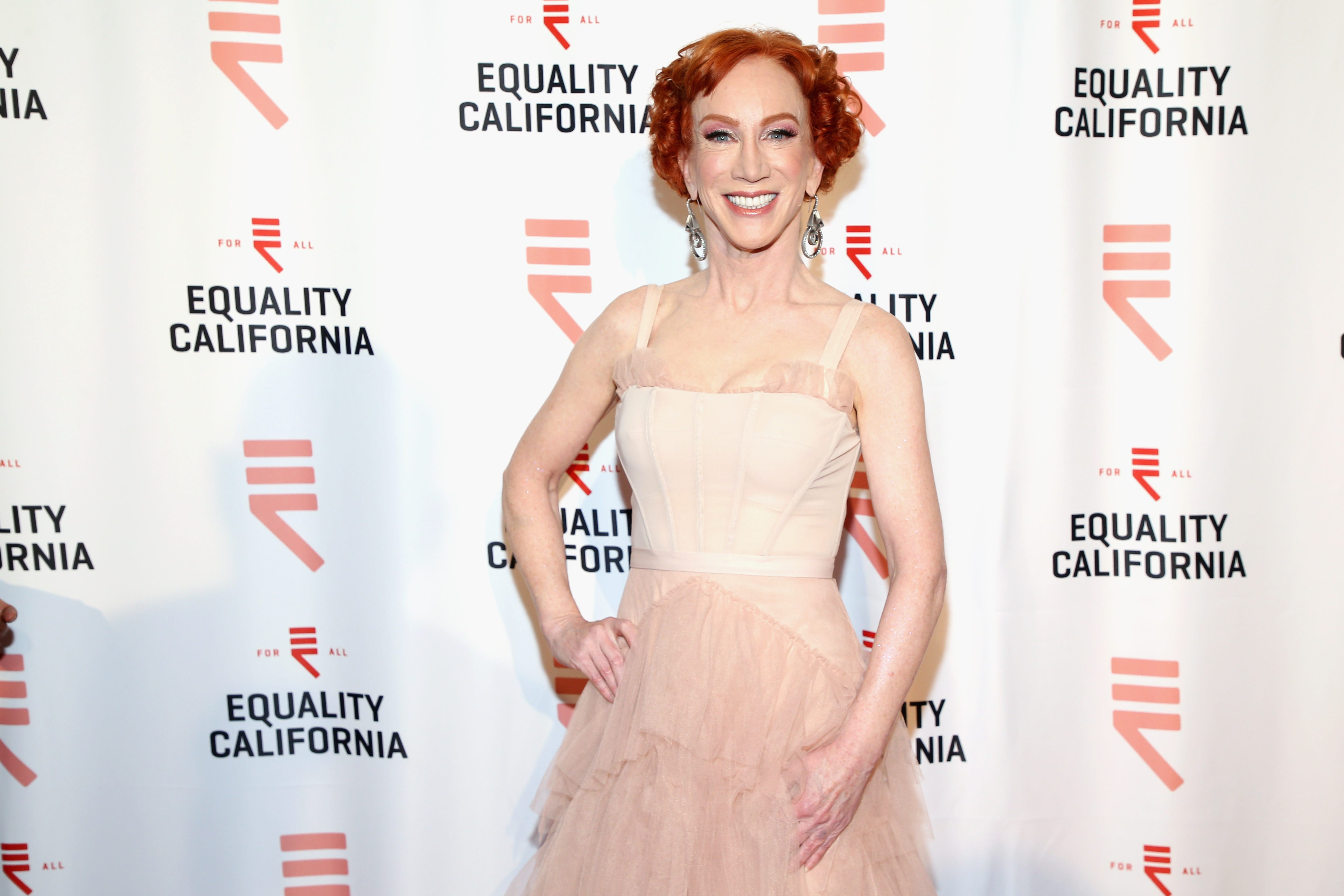 Kathy Griffin calls out Forbes' list of highest paid comedians for having 'no women'