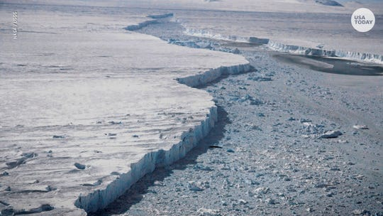 Antarctic ice melting 6 times faster than it did in '80s