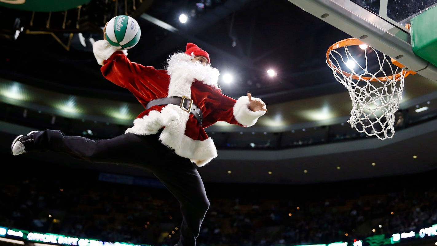 e5a6ddd4ee7 NBA on Christmas Day 2018  Schedule