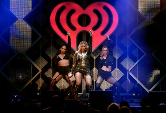 Dinah Jane performs onstage during 101.3 KDWB's Jingle Ball 2018 at Xcel Energy Center on December 3, 2018 in St Paul, Minnesota.