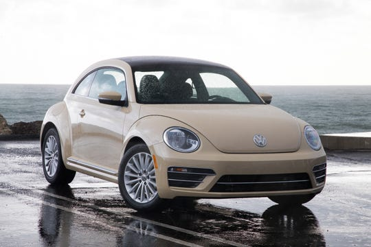 The 2019 Volkswagen Beetle will be the final version of the 2-door car famously known as the Bug.