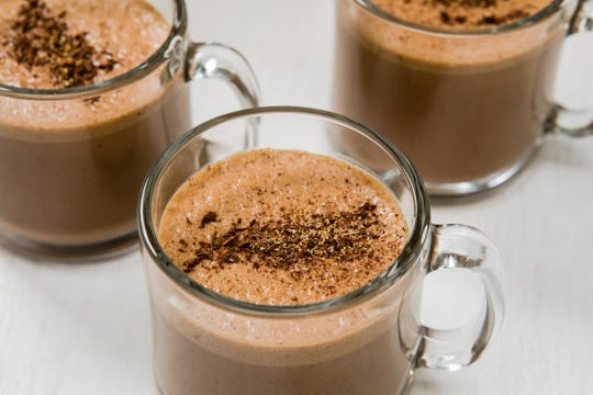 This rich mocha eggnog recipe combines two great beverages in one.