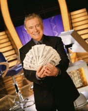"Regis Philbin as host of ""Who Wants to Be a Millionaire"" (ABC); August 16, 1999 – June 27, 2002"