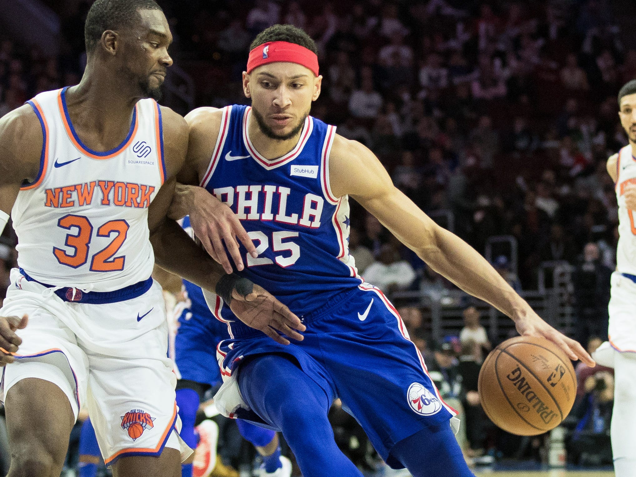 30. Ben Simmons, 76ers (Dec. 19): 13 points, 11 rebounds, 10 assists in 131-109 win over Knicks (fourth of season).