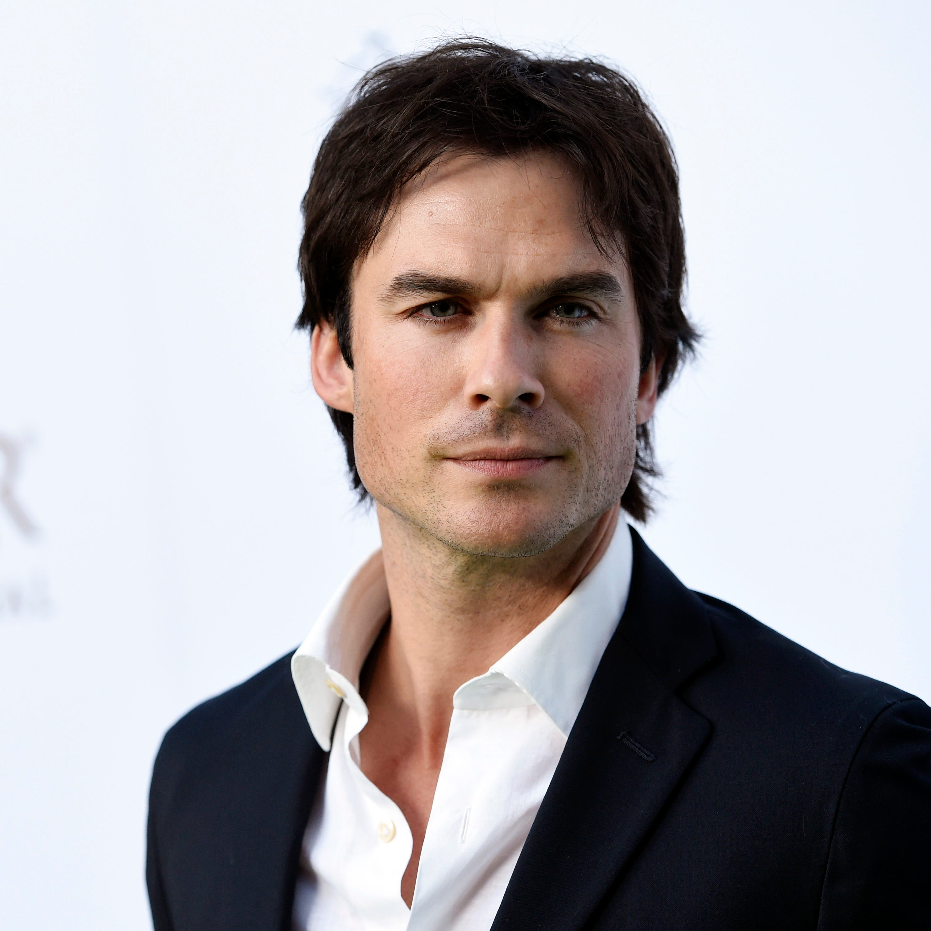 "Actor Ian Somerhalder poses at the 4th Annual Beyond Hunger: ""A Place at the Table"" Gala at the Montage Hotel."