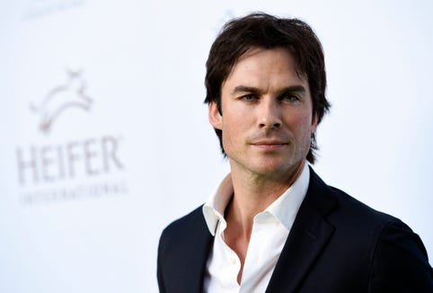 Ian Somerhalder shamed for 'strange' grocery basket of healthy vegetables