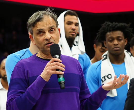 Kings owner Vivek Ranadive's dream to play an NBA game in India will come to fruition this week.