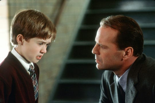 "The 1999 thriller ""The Sixth Sense"" includes an iconic plot twist."