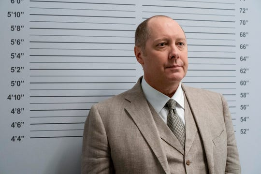 "James Spader stars at Raymond ""Red"" Reddington in the NBC series ""The Blacklist."""