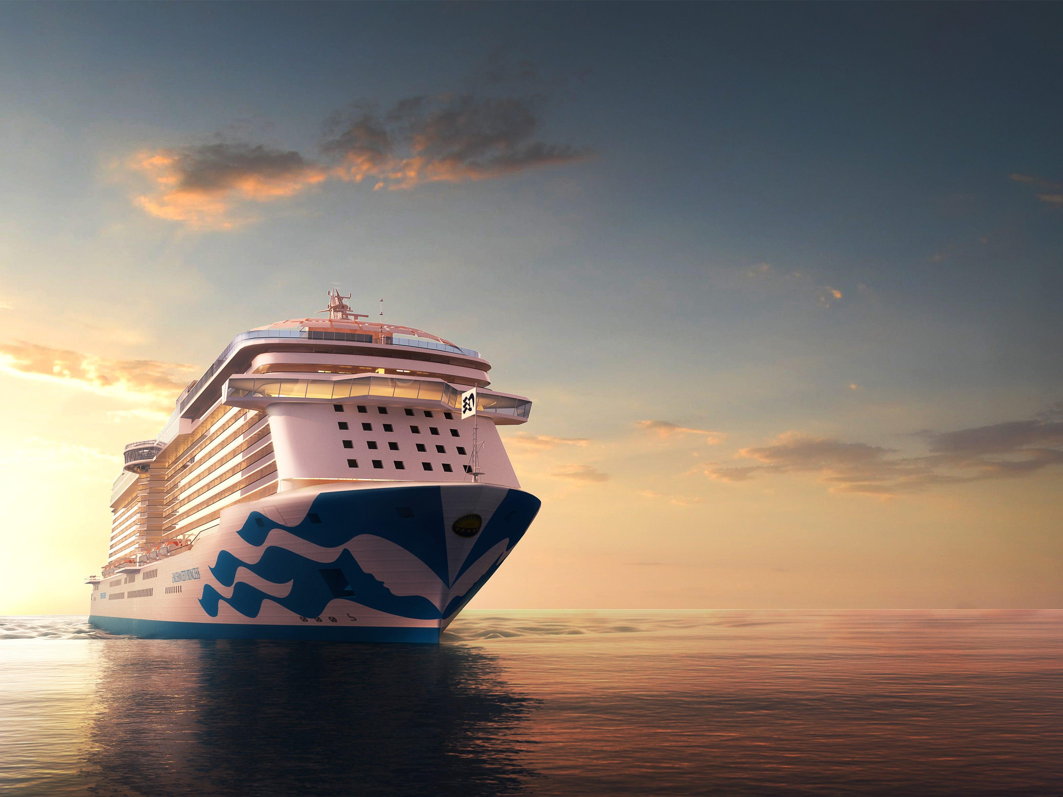 Sky Princess will debut in October 2019.