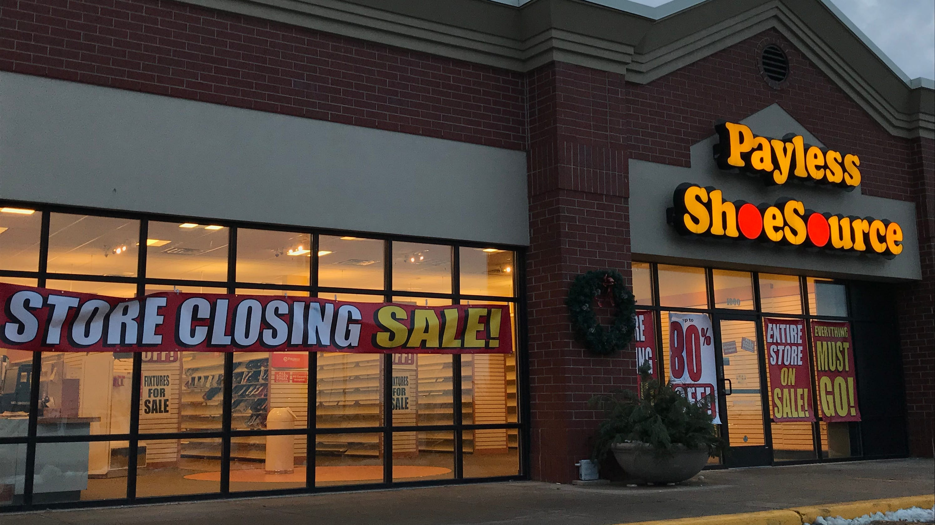 dba2f082d Payless ShoeSource stores closing  Liquidation sales start Sunday