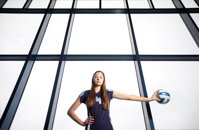 Hannah Vanden Berg, a senior at Little Chute High School, is the Post-Crescent girls volleyball player of the year. She will play in college at Marquette University.