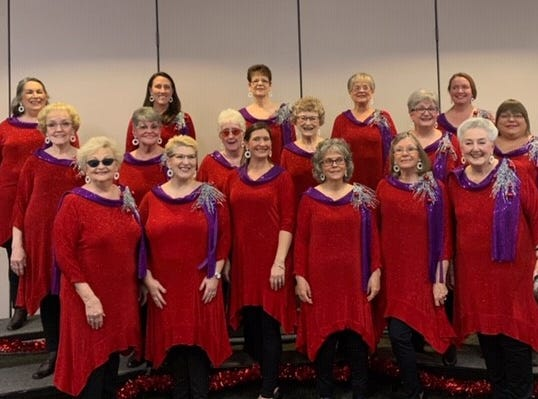 """The Abilene Star Chorus recently presented its """"Christmas Showcase,"""" an evening of barbershop-style music, under the direction of Kim Fenton."""