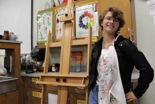 Wylie High School sophomore Chloe Ferguson.