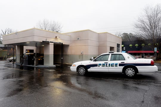 The BB&T Bank on Merrimon Avenue was robbed at gunpoint Friday afternoon, according to the Asheville Police Department.