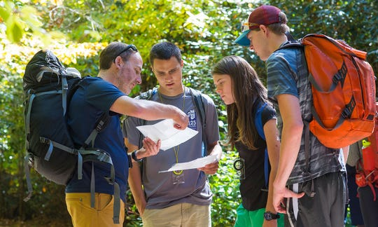 The Wilderness Education Association recently named Black Mountain's Andrew Bobilya as the 2018 recipient of its Outdoor Educator Award.