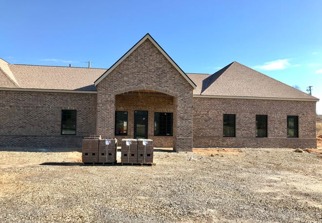 Farm Bureau Insurance of Buncombe County will be moving into this 5,500 square foot building on Brevard Road in 2019. They had to relocate because of the DOT's construction of a new interchange at Brevard Road.