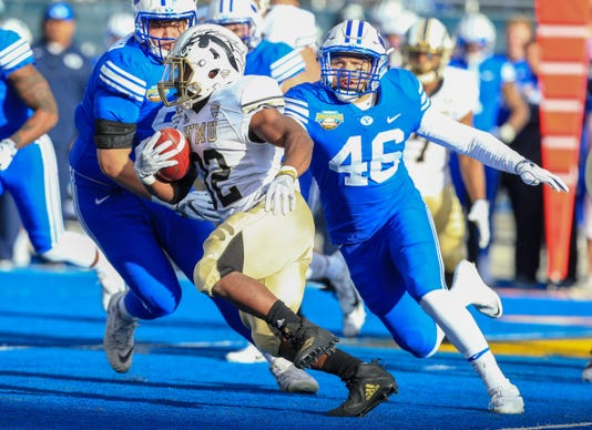 Ncaa Football Potato Bowl Brigham Young Vs Western Michigan