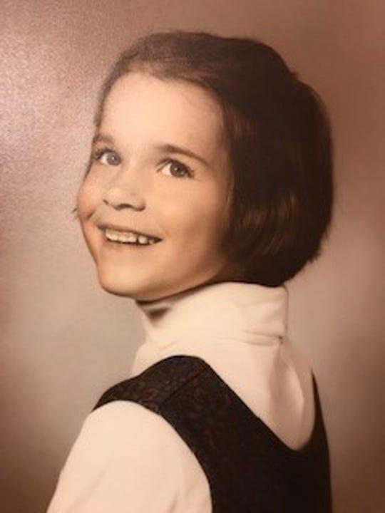 Lydia Brennan at age 4