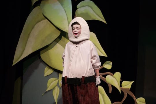 "Parker Howland portrayed Humpty Dumpty in Johnson City High School's Production of ""Shrek the Musical"" in March of 2016."