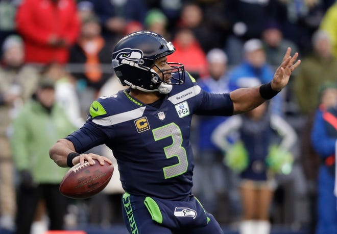 Russell Wilson of the Seahawks has traditionally performed at his best in December.