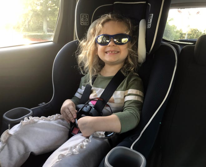 Isabella has a big year ahead in 2019, including turning 5 and starting kindergarten.