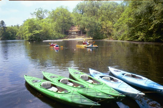 Kayaking and canoeing on Lake Stockwell  are popular with students who attend summer camps at the newly renamed YMCA of the Pines, formerly YMCA Camp Ockanickon  in Medford.  Courier-Post File