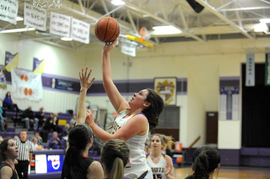 Unioto girls basketball defeated Piketon 54-25 at Unioto High School on Thursday as they stayed undefeated in the SVC on the season.