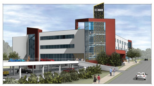 Rendering of proposed CoMade center in Avondale.