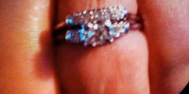 The ring was given to her by her late husband Bill Centers back in 1959.