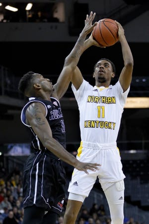 Jalen Tate scored 14 points in NKU's loss at Oakland.