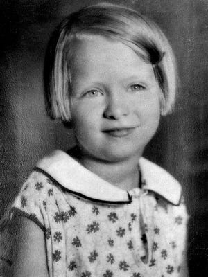 Marian McLean, murdered at age 6 days before Christmas in 1931.