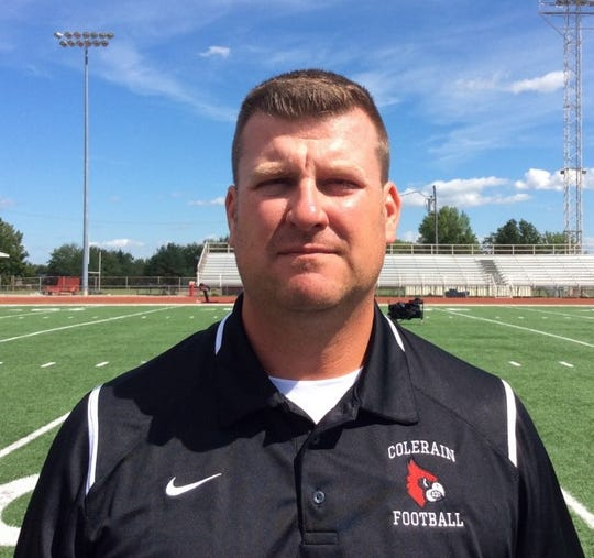 Colerain announces Shawn Cutright as the head coach of the football team, pending board approval.