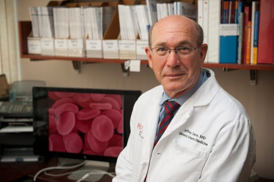 Heartbeats: National organization inducts Rutgers physician into Hall of Fame PHOTO CAPTION