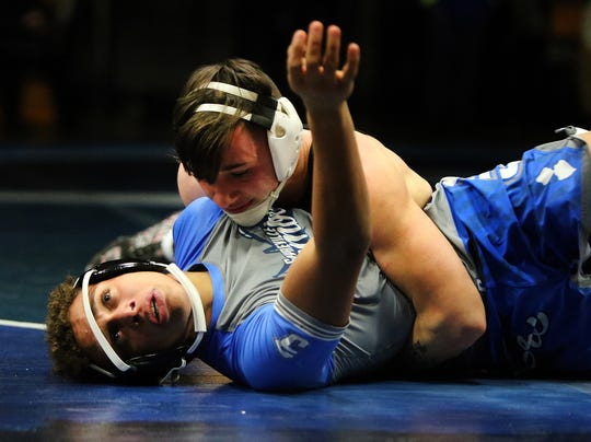 Woodbridge at Sayreville wrestling