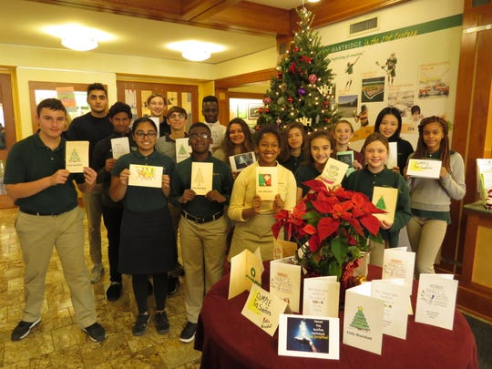 The Wardlaw+Hartridge students send cards to detention camp