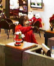 Indianola bank robbery suspect