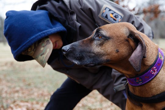 Iowa women train dogs to bring home the missing and the dead