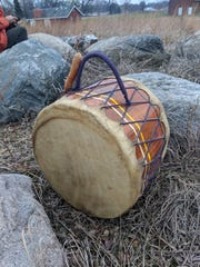 The drum's beat is like the first sound we heard, our mother's, and Dallas County naturalists played as the sun rose it to celebrate the winter solstice Dec. 21 at Hanging Rock Conservation Area near Redfield.