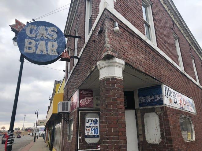 Cas Bar on the corner of Michigan Avenue and Casper Street.