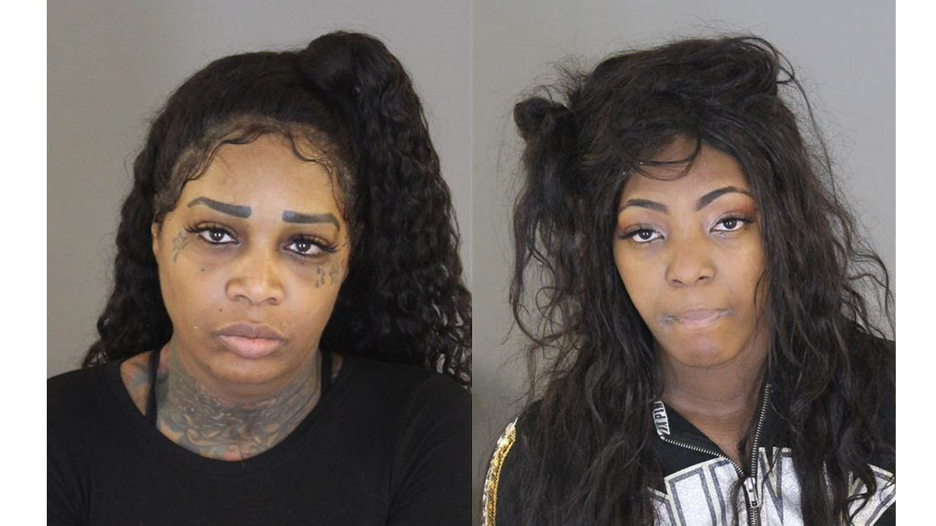 Women charged in ill-timed robbery at Target filled with cops