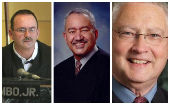 Chief Judge Robert J. Colombo Jr., Judge and former Chief Judge Virgil C. Smith, and Judge Richard B. Halloran will be hanging up the robes at the end of December.