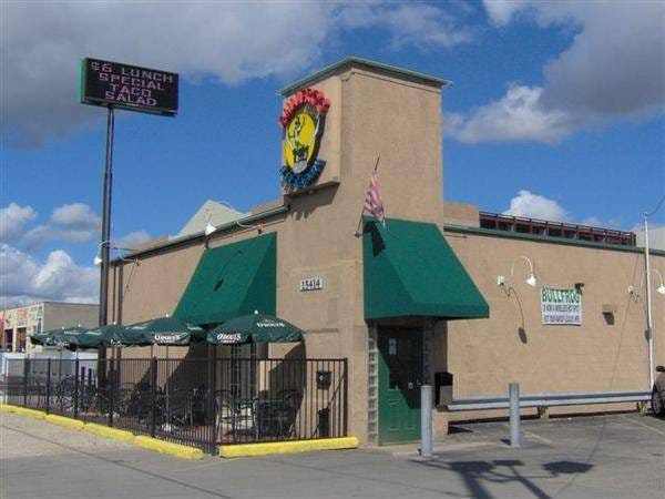 Bullfrog Bar & Grill in Redford will close at the end of the month.