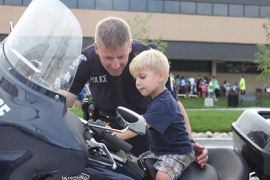 Retired Sterling Heights Police Sergeant Daryl Brown was fatally struck Friday.