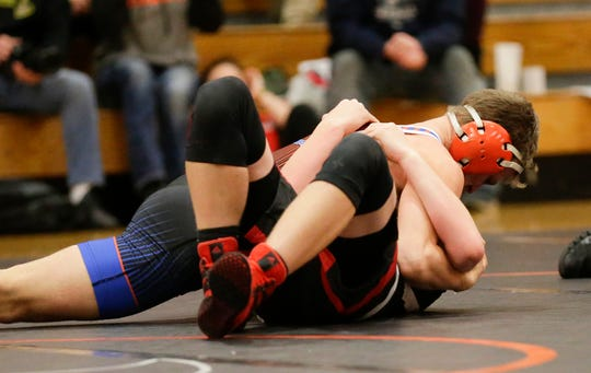 North Fond du Lac's Dalton Fritch is the only senior on the St. Mary's Springs/North Fond du Lac co-op team. He finished second in a WIAA regional Saturday.