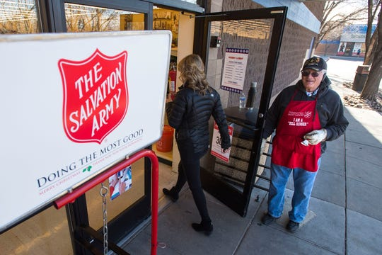 The Salvation Army is provided meals for those in need of food assistance during the coronavirus.