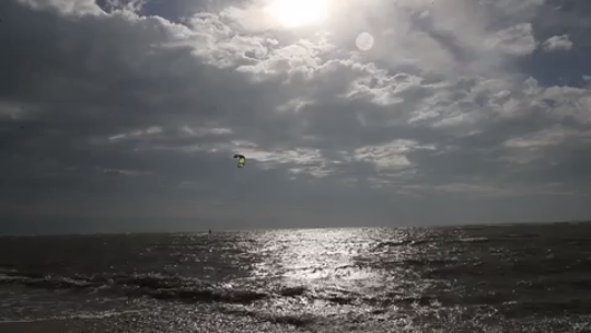 Video: Weather front fuels kite boarders to big air off of Sanibel Causeway